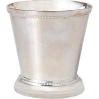 Yargıcı Gümüş Kaplama Bardak ( 8 X 8 Cm)