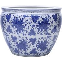 Yargıcı El Yapımı Seramik Pot ( 46 X 35 Cm )
