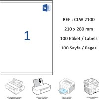 Crea Label Clw-2000 210 X 297 Mm Lazer Etiket