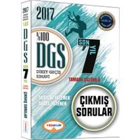 Yediiklim Yayınları Dgs 2017 Tamamı Çözümlü Son 7 Yıl Çıkmış Sorular
