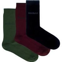 Bad Bear Erkek Çorap-Solıd 3'Lü Paket Renkli 41-45