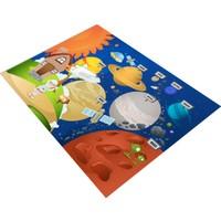 Jungle Uzay Alanı Çocuk Odası Halısı