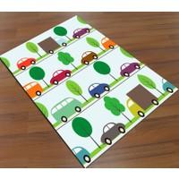 Jungle Arabalı Çocuk Odası Halısı