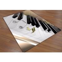 Jungle Piyano Çocuk Odası Halısı