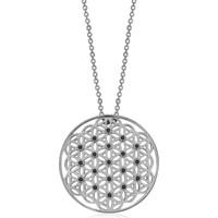 VAOOV 925 Ayar Gümüş Yaşam Çiçeği Kolye