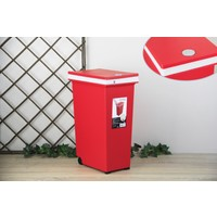 Ancel Dokunmatik Kırmızı Çöp K. 20Lt