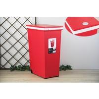 Ancel Dokunmatik Kırmızı Çöp K. 45Lt
