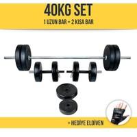 Ecg HiperX 40Kg Halter Dambıl Ağırlık Seti