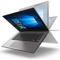 """Toshiba Satellite Radius L40W-C-10N Intel Core i7 5500U 4GB 1TB Windows 10 Home 14"""" IPS Taşınabilir Bilgisayar"""