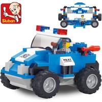 Sluban B0183 Özel Tim Polis Arabası 121 Parça