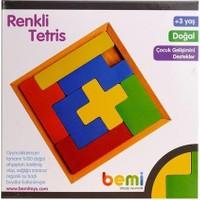 Bemi 1192 Ahşap Renkli Tetris