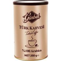 Günbak Türk Kahvesi Teneke 250 G