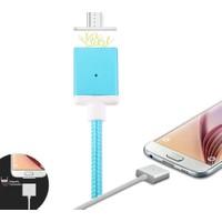 Ally Android Universal Micro Usb Manyetik Şarj Kablosu