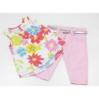 Kts Baby Bahar Çiçekleri Kız Bebek Takım