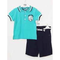 Kts Baby Yakalı T-Shirtlü Takım 9-24 Ay