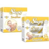 Sleepy Sensitive Islak Havlu Mendil 60 Li 3 Paket