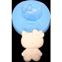Elitparti Hello Kitty Sabun Ve Kokulu Taş Silikon Kalıbı