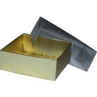 Elitparti Sabun Ve Kokulutaş Kutusu 8X8X3 5 Adet - Altın
