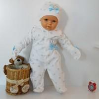 Eda Baby 9157-1 Prens Baskılı Bebek Tulumu