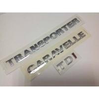 Oem Vw Transporter Caravelle T5 Tdı Tek Kırmızı Yazı