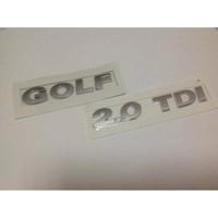 Oem Volkswagen Golf 2.0 Tdi Bagaj Arka Yazısı