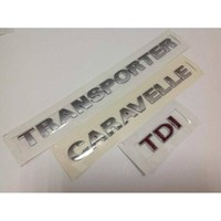 Oem Vw Transpoter Caravelle T6 Tdı Üç Kırmızı Yazısı