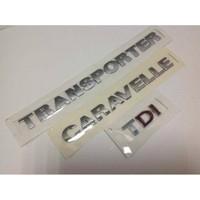 Oem Vw Transpoter Caravelle T5 Tdı Çift Kırmızı Yazı
