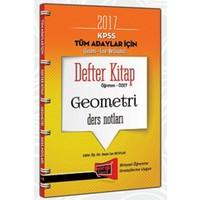 Yargı Yayınevi Kpss 2017 Tüm Adaylar İçin Defter Kitap Geometri Ders Notları