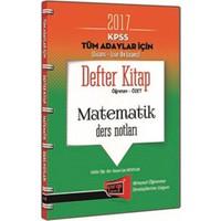 Yargı Yayınevi Kpss 2017 Tüm Adaylar İçin Defter Kitap Matematik Ders Notları