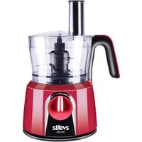Stilevs Maxi Chef Mutfak Robotu - Kırmızı&Siyah