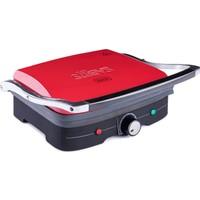 Stilevs Kıtırık Çelik Tost Makinesi - Kırmızı