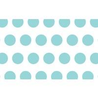 Savage (U.S.A) Stüdyo Fon Aqua Polka Dots Printed Background Paper