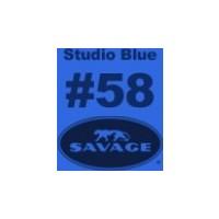 Savage (U.S.A) Stüdyo Kağıt Fon Studio Blue Seamless Paper 135*1100 cm