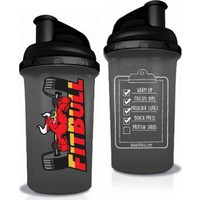 Fitbull Shaker 700 ml Siyah