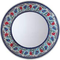 Quartz Ceramics Quartz Ceramics El Yapımı 40 cm Seramik Ayna