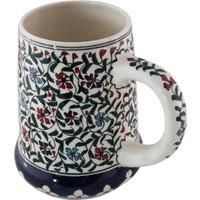 Quartz Ceramics Quartz Ceramics El Yapımı Seramik Bira Bardağı