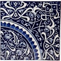 Quartz Ceramics Quartz Ceramics El Yapımı Seramik 20 cm x 20 cm Karo