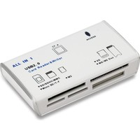Aneex E-R513 Usb 2.0 Beyaz Harici Kart Okuyucu