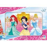 Ks Games Prensesler 24 Parça Frame Çocuk Puzzle