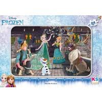 Ks Games Disney Frozen 24 Parça Frame Puzzle