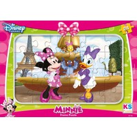 Ks Games Minnie Mouse Ve Daisy Duck 24 Parça Frame Puzzle