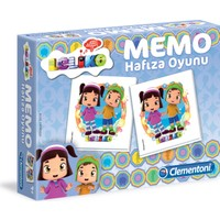 Clementoni 67273 Leliko Memo/Hafıza Kartları