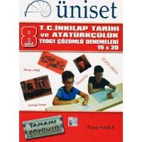 Üniset Yayıncılık 8. Sınıf T.C. İnkılap Tarihi Ve Atatürkçülük Teog1 Çözümlü Denemeleri 15X20