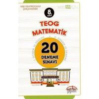 Editör Yayınları 8. Sınıf Teog Matematik 20 Deneme Sınavı