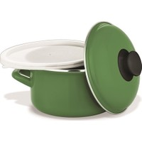 Schafer Pişir Sakla Tencere 18 cm Yeşil (29441)