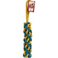 Flip Dtr-107 Köpek Diş İpi (Sarı-Lacivert) 320 Gr 42 Cm