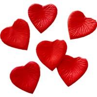 KullanAtMarket Dökme Kırmızı Kalp Gül Yaprağı - 145 Adet
