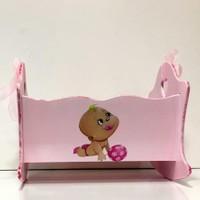 Artez Tasarım İsme Özel Bebek Şekeri Sepeti Toplu Bebek Modeli