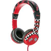 Trust Urban 20953 Spila Çocuklar İçin Kulaküstü Kulaklık Araba Desenli