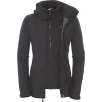 The North Face W Evolution II Triclimate Jacket Kadın Mont Siyah
